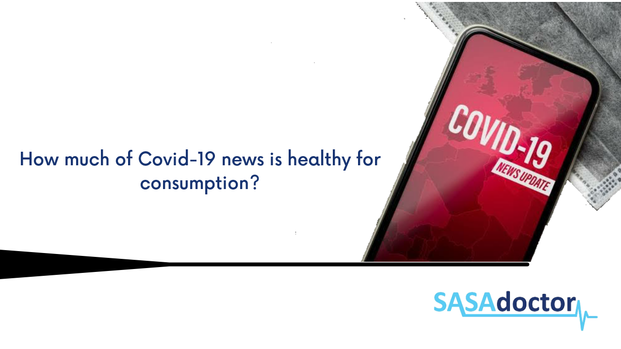 How much of COVID 19 news is healthy for consumption?