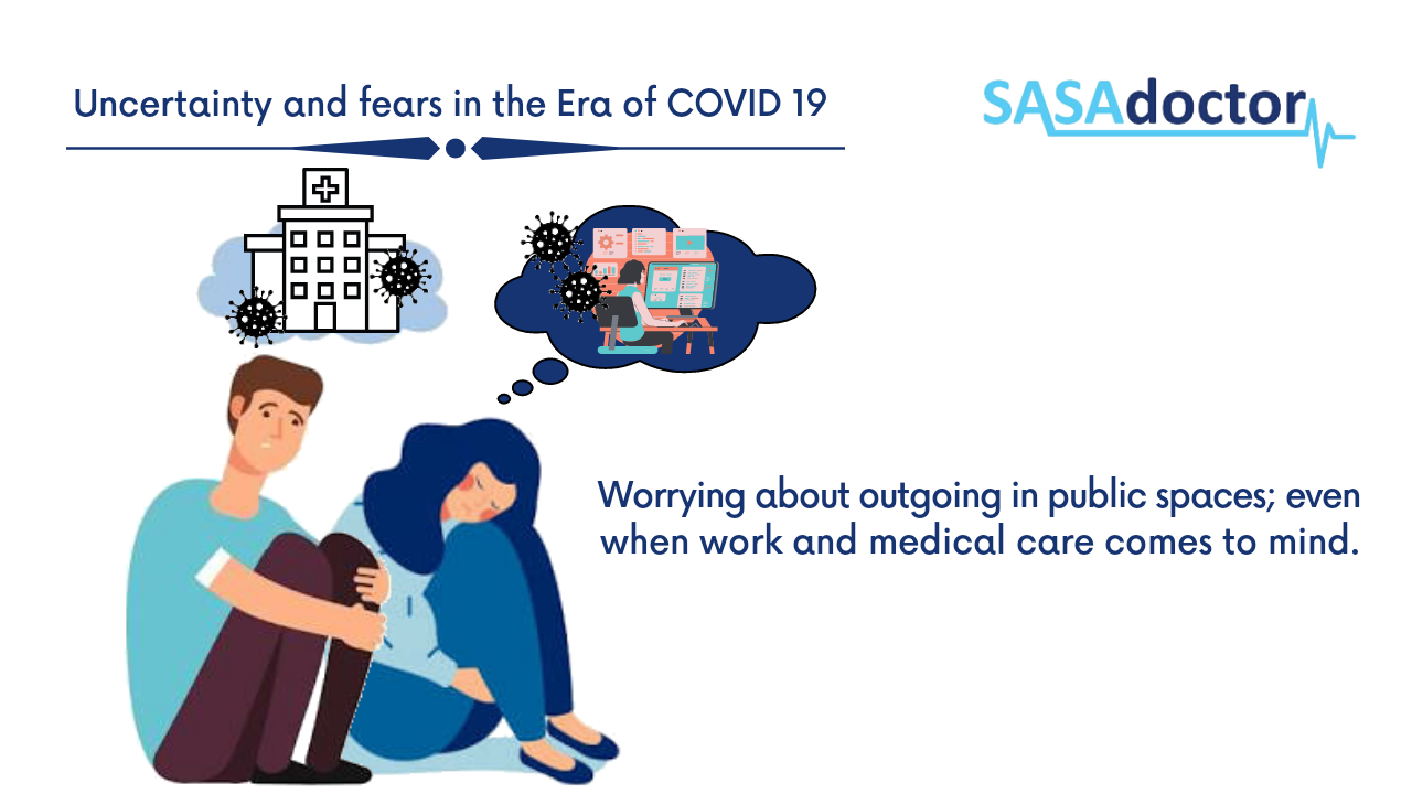 COVID 19 has also come with its fair share of apprehension often about going out in public spaces. We need to go out either for work or to seek medical attention.